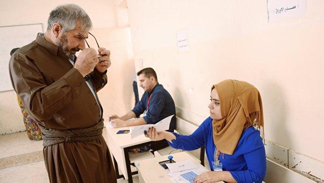 На референдуме в Иракском Курдистане начался подсчет голосов