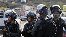 Израильская пограничная полиция. Архивное фото