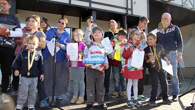 Российские звезды поддержали особенных детей на празднике Старты мечты