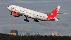 Самолет Boeing 777-200 авиакомпании ВИМ-Авиа. Архивное фото