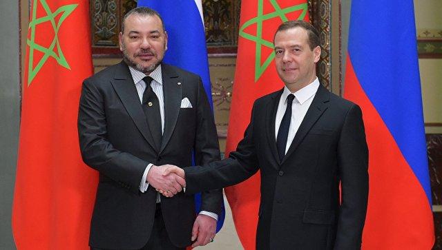 Визит Медведева в Марокко запланирован на 10-11 октября