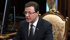 Временно исполняющий обязанности главы Самарской области Дмитрий Азаров. Архивное фото