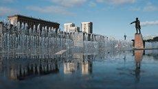 На Московской площади в Санкт-Петербурге. Архивное фото
