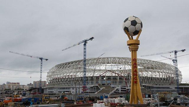 Поле стадиона «Мордовия Арена» кЧМ-2018 будет засеяно воктябре