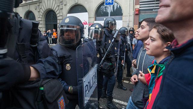 Госсекретарь Испании оценил действия полиции во время референдума