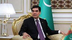 Президент Туркмении Гурбангулы Бердымухамедов. Архивное фото