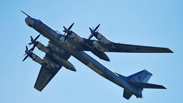 Истребители США иЯпонии сопроводили два ракетоносца Ту-95МС над Тихим океаном