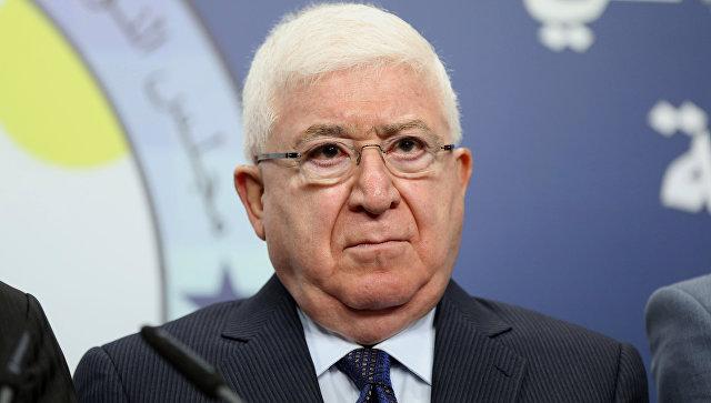Президент Ирака призвал к диалогу между Багдадом и Курдистаном