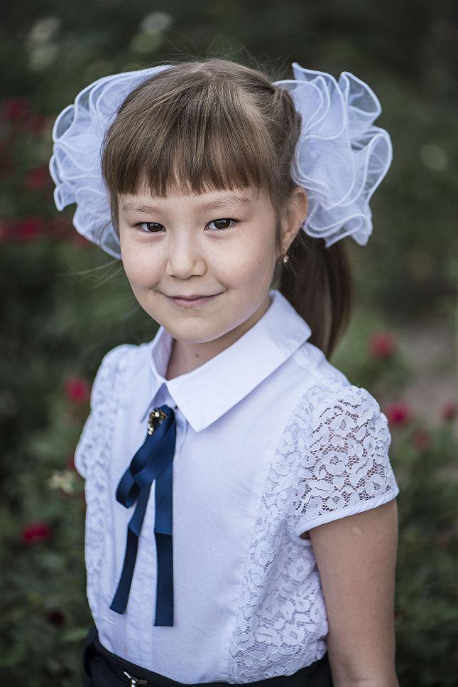 Айдана Омурова, 8 лет