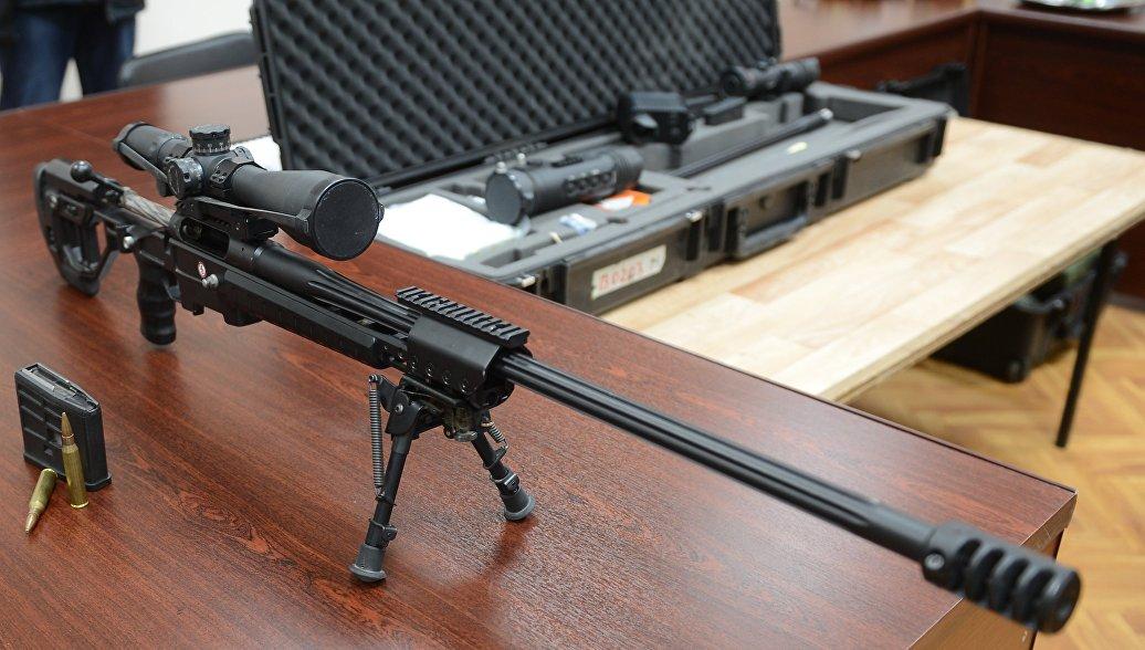 Новый снайперский комплекс Точность, разработанный в ЦНИИТОЧМАШ