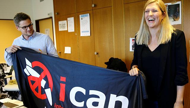 «Нобеля» замир получила кампания ICAN заядерное разоружение
