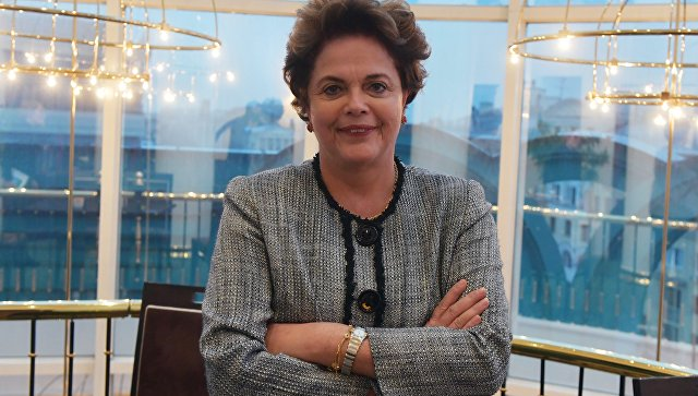 Экс-президент Бразилии Дилма Роуссефф. Архивное фото