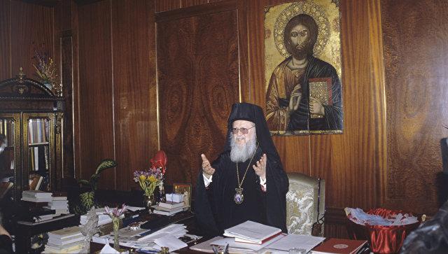 Патриарх Константинопольский Варфоломей I. Архивное фото