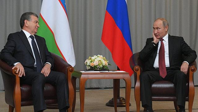 Путин ипрезидент Узбекистана подписали общее объявление