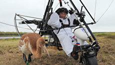 Владимир Путин принял участие в экологическом проекте Полет надежды. Архив