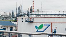 Биологические очистные сооружения на Московском нефтеперерабатывающем заводе Газпром нефти