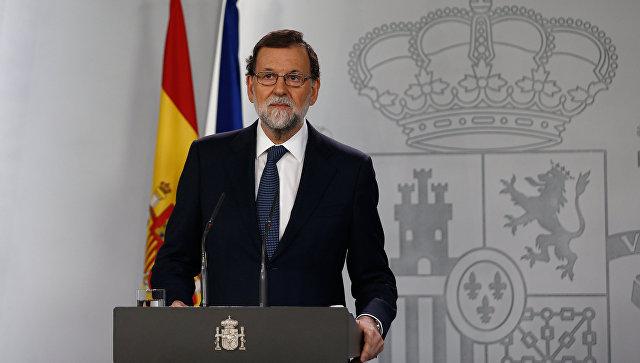 Премьер Испании предложил главе Каталонии выступить в парламенте
