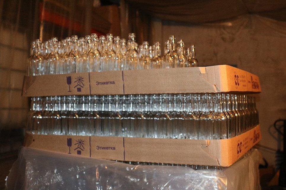 ВКемерове устранили  подпольный цех попроизводству спиртосодержащей продукции