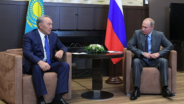 Президент Казахстана пошутил вовремя встречи с германским  бизнесом