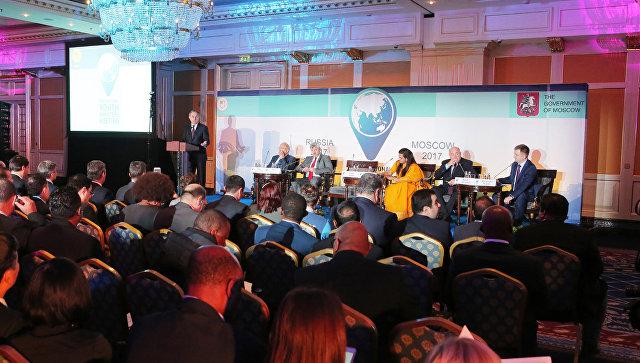 На Международной министерской встрече глав ведомств по делам молодежи в Москве в рамках XIX Всемирного фестиваля молодежи и студентов.