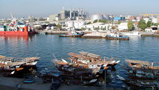 Порт Шардж в Объединенных Арабских Эмиратах. Архивное фото