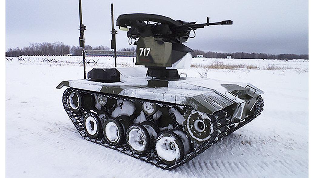 Ковровский роботизированный комплекс «Нерехта» испытают взимних условиях