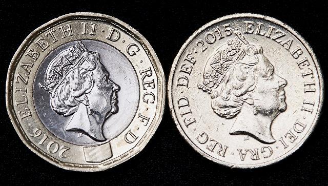 Фунт стерлингов монета великобритания подставка под монетные капсулы
