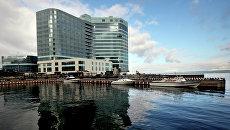 Строительство пятизвездочной гостиницы Hyatt Regency Vladivostok