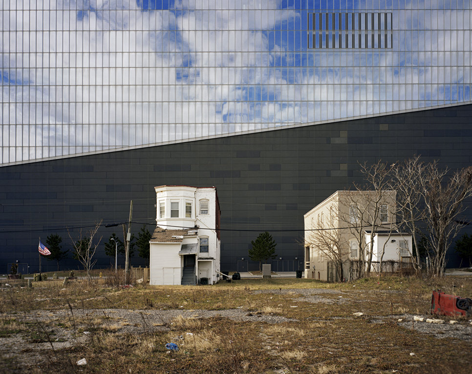 Северная стена казино Revel в Атлантик-Сити