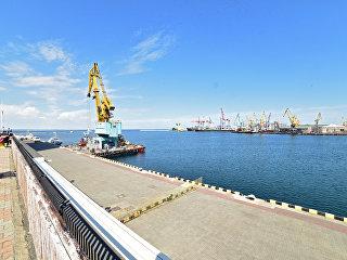 Грузовой порт в Одессе. Архивное фото