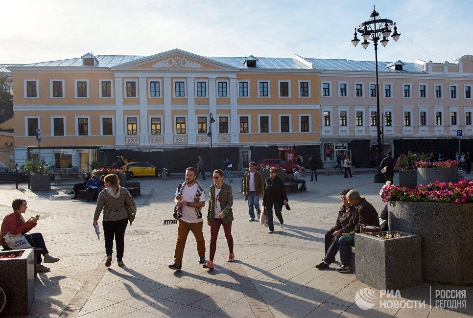 Пятницкая улица в Москве