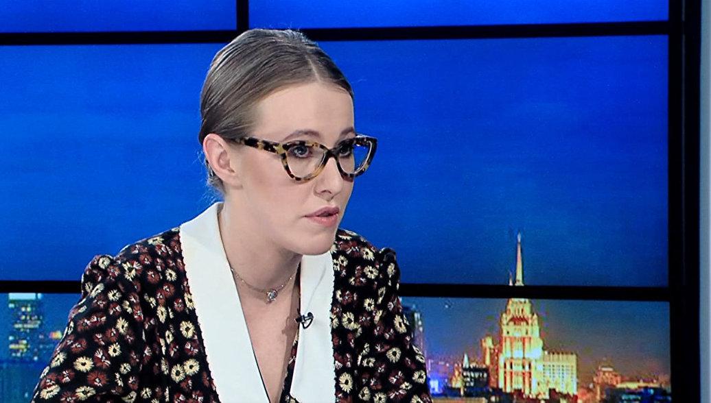 Собчак рассказала о реакции Путина на ее решение баллотироваться в президенты