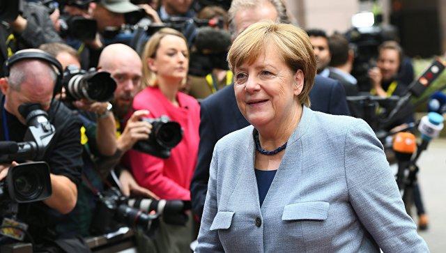 Меркель призывает Совет ЕС сократить поддержку Турции