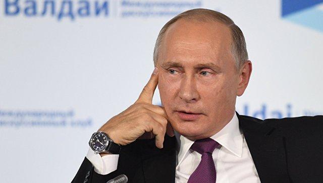 Путин оженщине— президенте Российской Федерации: Унас все-таки возможно всё