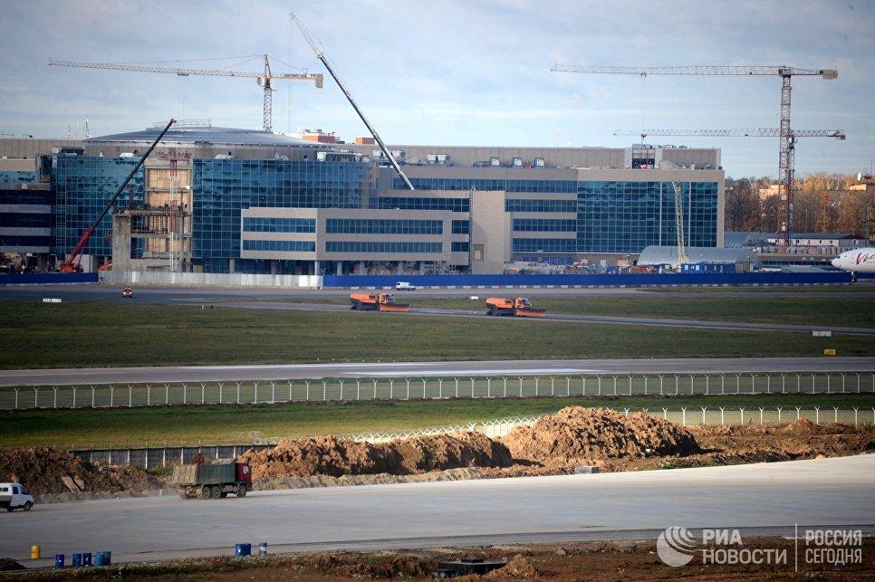 Строительство нового терминала аэропорта Домодедово