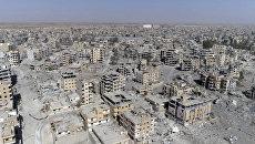 Город Ракка. Архивное фото