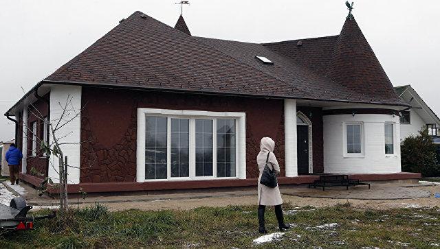Презентация первого в России жилого дома, построенного с применением строительной технологии 3D печати