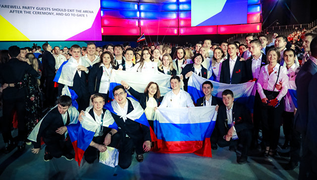 Церемония закрытия чемпионата WorldSkills Abu Dhabi – 2017