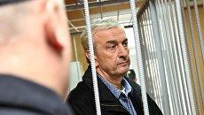 Бывший председатель Нацбанка Абхазии Даур Барганджия на заседании Тверского районного суда города Москвы. 25 октября 2017