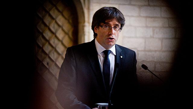 Лидер Каталонии сделал первое объявление  после «побега» вБельгию