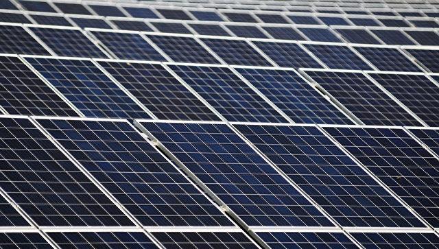 Россия обсуждает с Саудовской Аравией поставку солнечных панелей