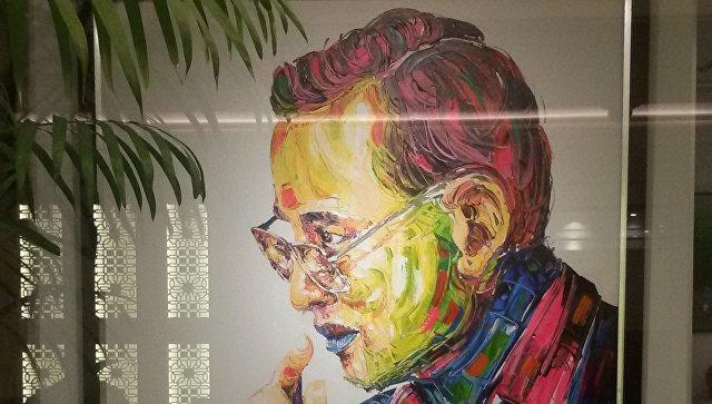 Портрет короля Таиланда Пхумипона Адулъядета