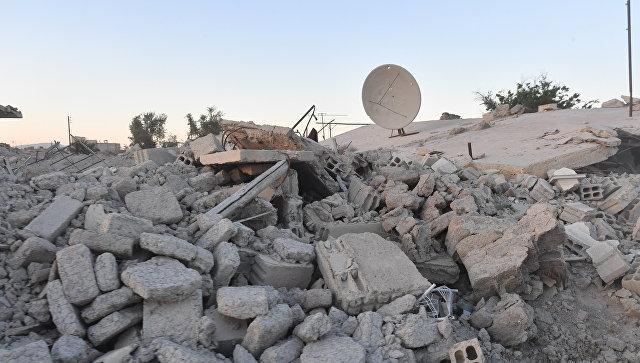 ВоеннослужащиеРФ обеспечили доставку гуманитарного груза ООН вВосточную Гуту