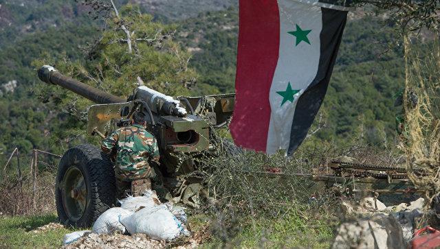 Сирийская армия в провинции Идлиб. архивное фото