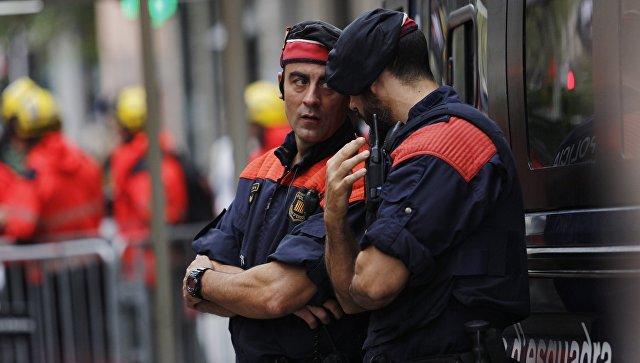 Сотрудники полиции Испании. Архивное фото