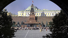 Красная площадь. Мавзолей В. И. Ленина