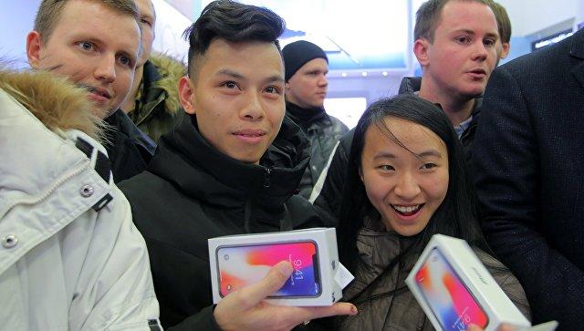 В столице заутро раскупили самые дорогие iPhone X