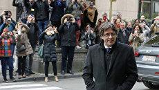Бывший глава женералитета Каталонии Карлес Пучдемон. Архивное фото