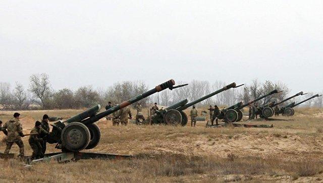 Две артиллерийские батареи ВСУ уничтожены под Донецком— Захарченко