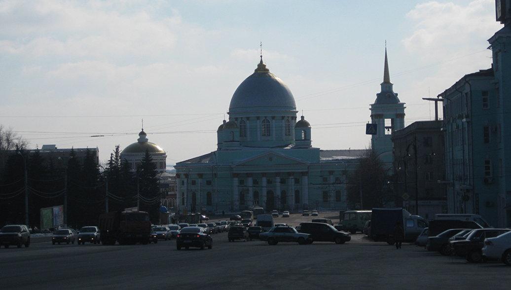 Город Курск. Архивное фото